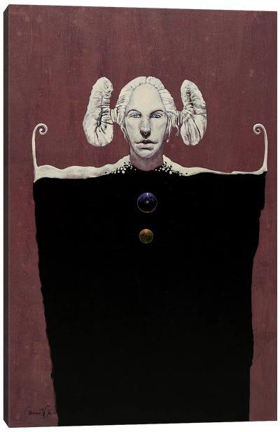 White Maiden Canvas Art Print