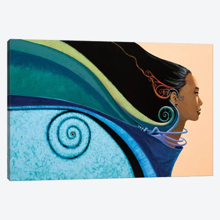 Winds of Change : Zeta Canvas Print #LWL28} by Lawrence Lee Canvas Art
