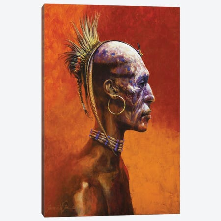 Second World Shaman Canvas Print #LWL36} by Lawrence Lee Canvas Art