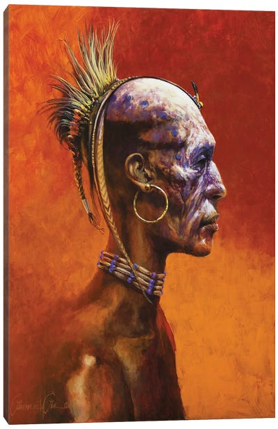 Second World Shaman Canvas Art Print