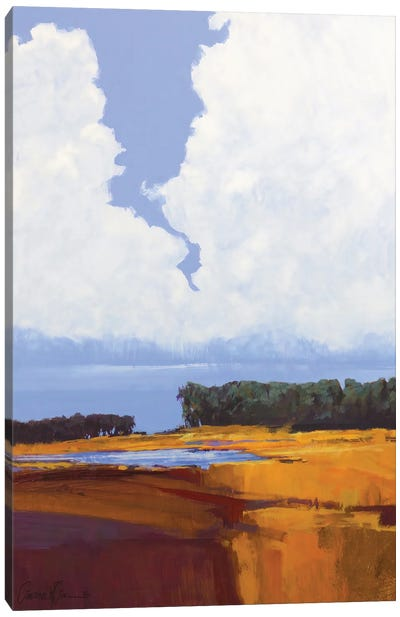 Sky And Clouds Larghetto Canvas Art Print