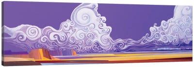 Skybloom Alpha Canvas Art Print