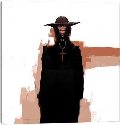 The Stranger II Canvas Art Print