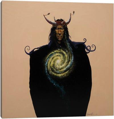 Crown Of Horns Canvas Art Print