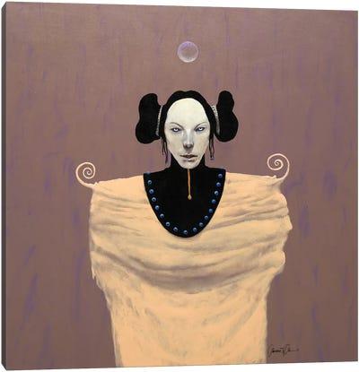 Ghost Talker Canvas Art Print
