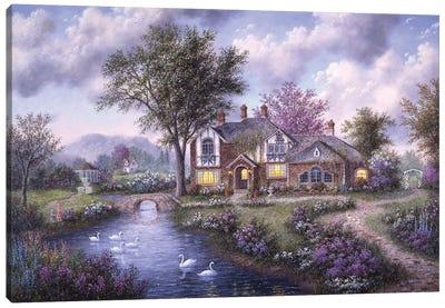 Sherwood Manor Canvas Art Print