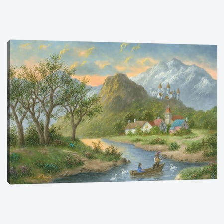 Spring Time Serenade Canvas Print #LWN111} by Dennis Lewan Art Print