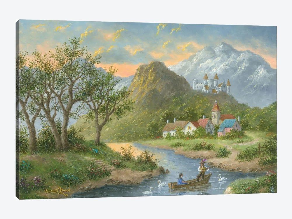 Spring Time Serenade by Dennis Lewan 1-piece Canvas Art