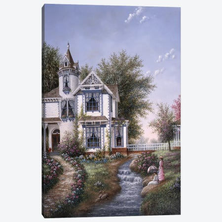 Summertime Leisure  Canvas Print #LWN116} by Dennis Lewan Canvas Art