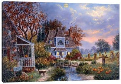 All Hallows  Eve Canvas Art Print