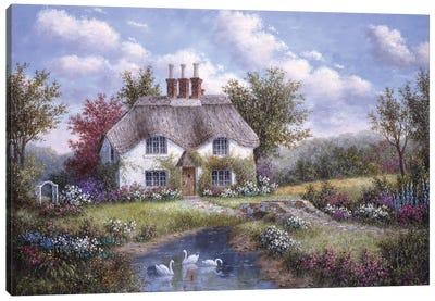 Swan Creek Cottage Canvas Art Print