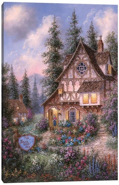 The Bear Haus Inn Canvas Art Print