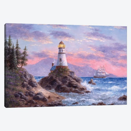 Treasure Cove Canvas Print #LWN140} by Dennis Lewan Canvas Artwork