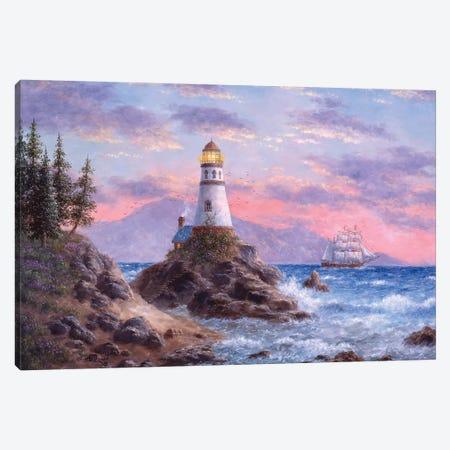 Treasure Cove Canvas Print #LWN140} by Dennis Lewan Canvas Artwork