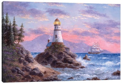 Treasure Cove Canvas Art Print