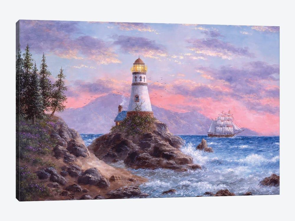 Treasure Cove by Dennis Lewan 1-piece Canvas Artwork