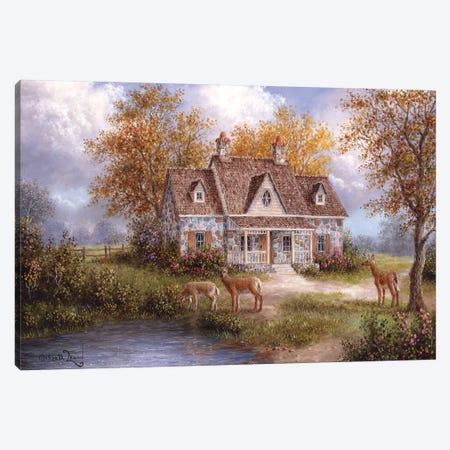 Welcome Company Canvas Print #LWN148} by Dennis Lewan Canvas Art
