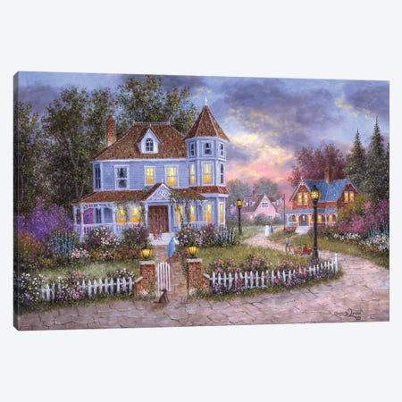 American Holiday Canvas Print #LWN16} by Dennis Lewan Canvas Wall Art