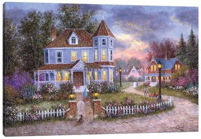 American Holiday Canvas Art Print
