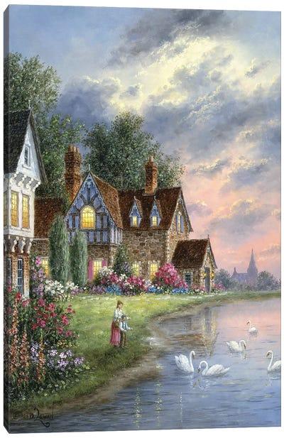 Applewood Garden Canvas Art Print
