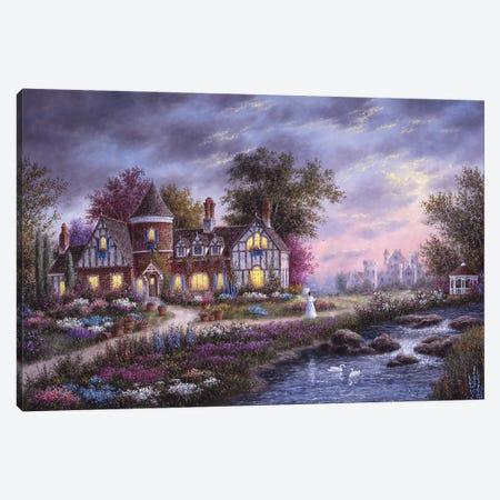 Ashleigh Gardens Canvas Print #LWN20} by Dennis Lewan Canvas Wall Art