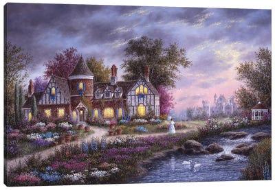 Ashleigh Gardens Canvas Art Print