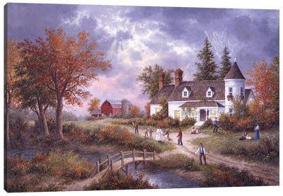 Autumn Angels Canvas Art Print