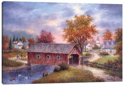 Autumn Daze Canvas Art Print