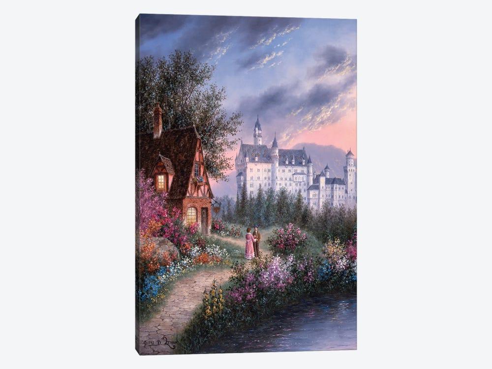 Bavarian Castle by Dennis Lewan 1-piece Canvas Print