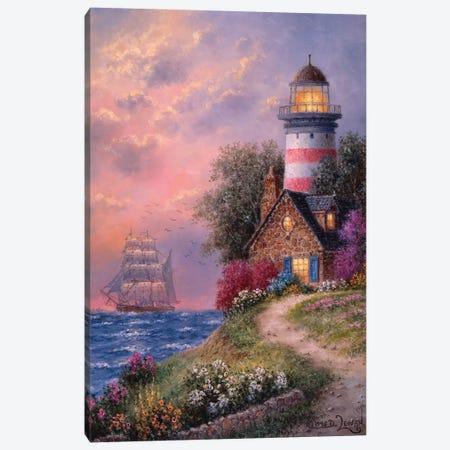 Beacon Ridge Canvas Print #LWN27} by Dennis Lewan Art Print