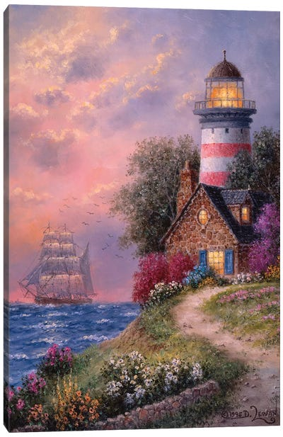 Beacon Ridge Canvas Art Print