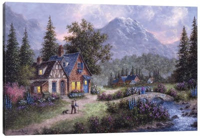 Bear Mountain Canvas Art Print