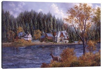 Booth's Bay Canvas Art Print