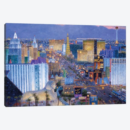 Boulevard of Dreams Canvas Print #LWN32} by Dennis Lewan Canvas Art Print