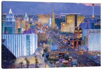 Boulevard of Dreams Canvas Art Print