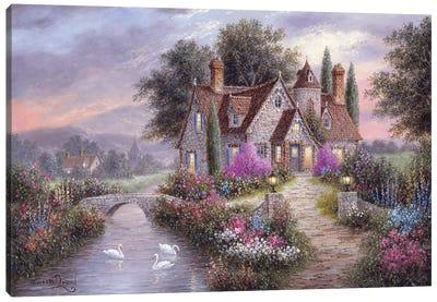 Brighton Manor Canvas Art Print
