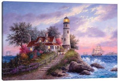Captain's Cove Canvas Art Print