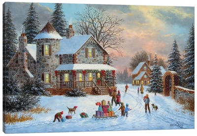 Gifts for Everyone Canvas Art Print