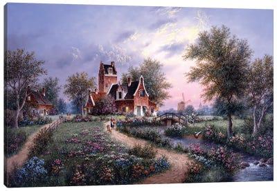 A Peaceful Eve, Holland Canvas Art Print