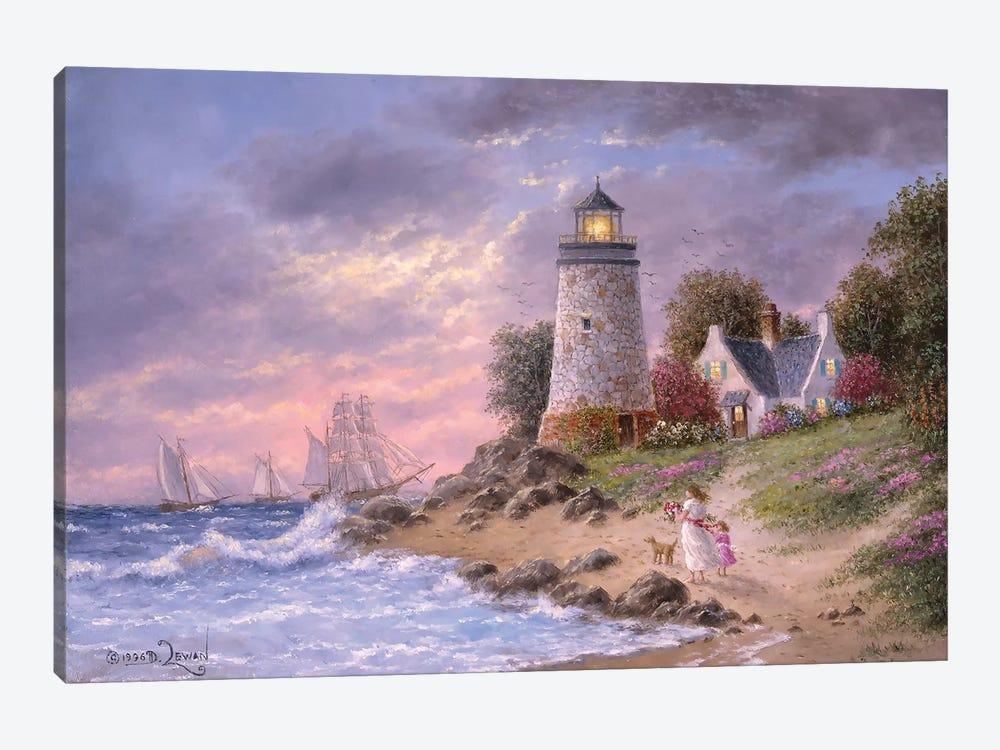 A Sailor's home Coming by Dennis Lewan 1-piece Art Print
