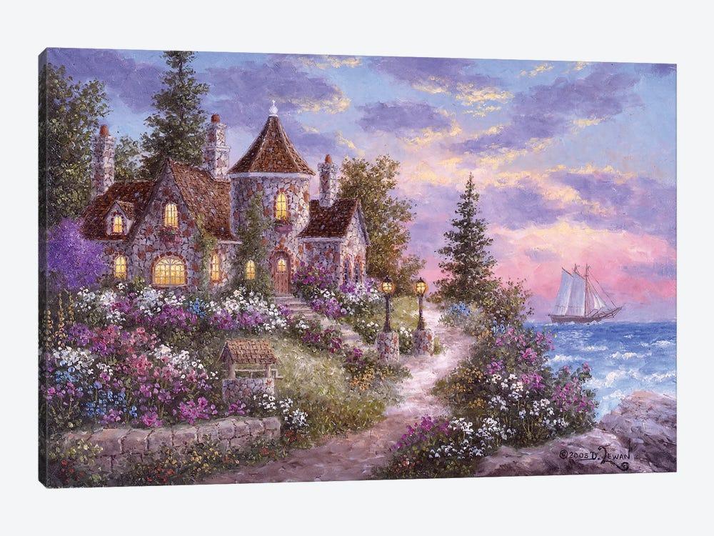 Mystic Manor by Dennis Lewan 1-piece Canvas Print