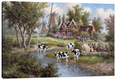 Pasturelands of Holland Canvas Art Print