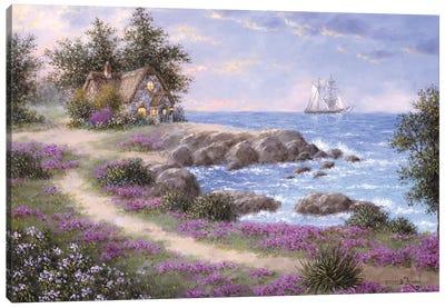 Rocky Cove Canvas Art Print