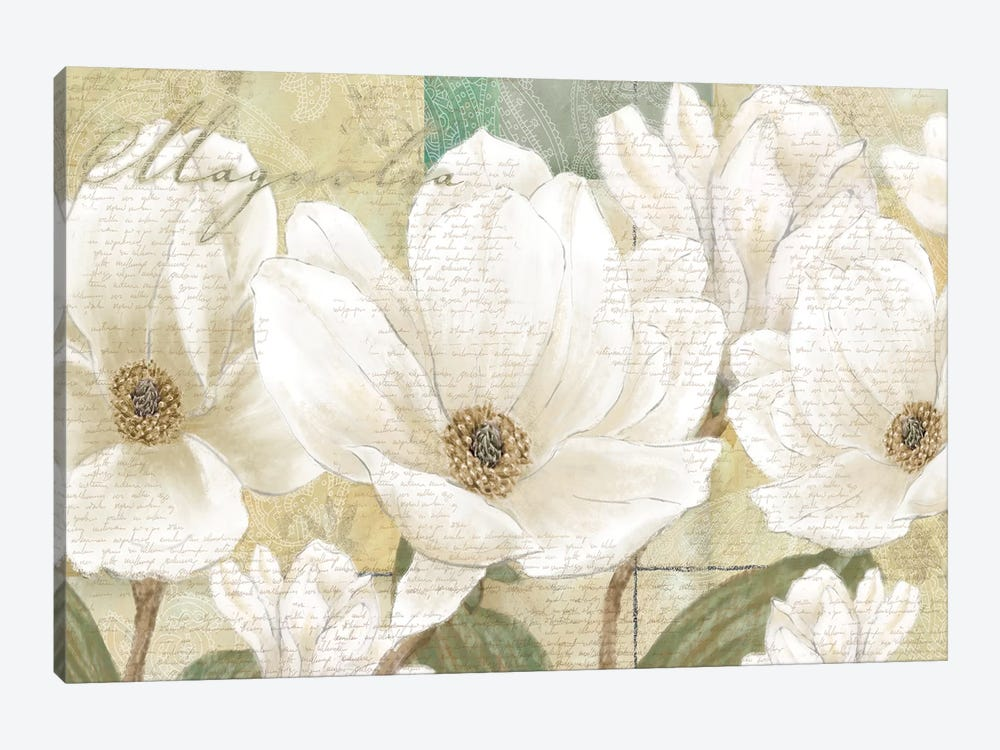 Magnolia 1-piece Canvas Wall Art