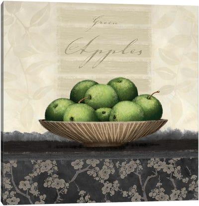 Green Apples Canvas Art Print