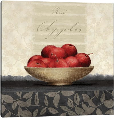Red Apples Canvas Art Print