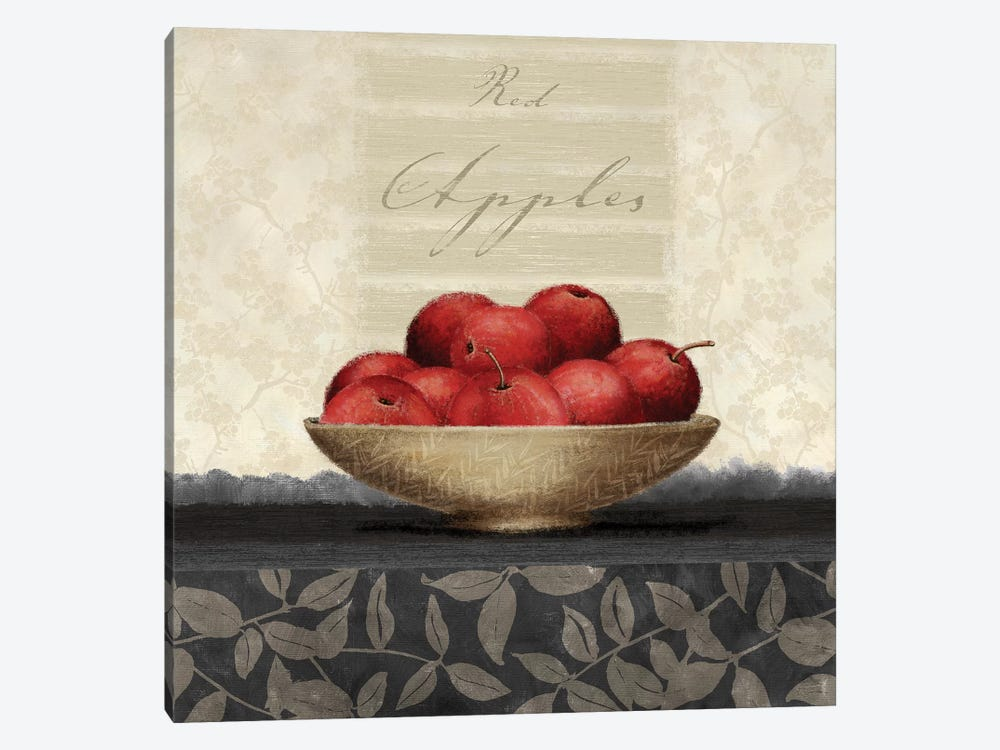 Red Apples by Linda Wood 1-piece Art Print
