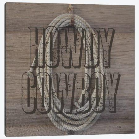 Cowboy Canvas Print #LWS13} by Sheldon Lewis Canvas Wall Art