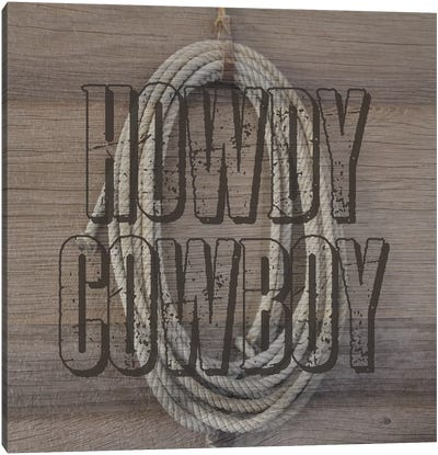 Cowboy Canvas Art Print