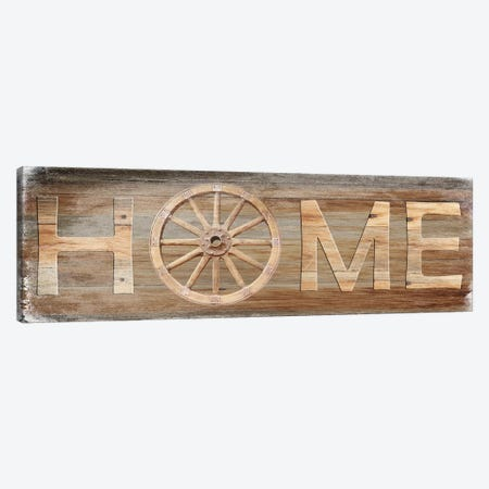 Farm Home Canvas Print #LWS15} by Sheldon Lewis Art Print